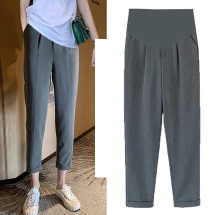 Maternity Clothing Stomach Lift Casual Pregnant Women Pants