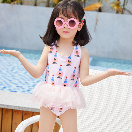 Baby Clothing One-piece Ballet Little Princess Skirt Swimsuit