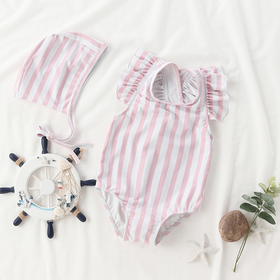 Baby Clothing One-piece Female Princess Cute Swimsuit
