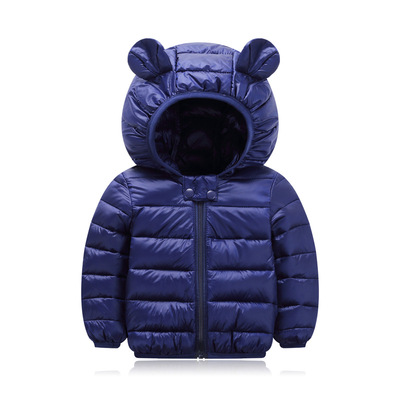 Baby Clothing Down Cotton Casual Jacket