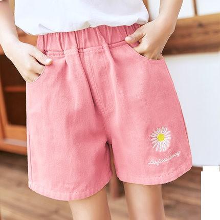 Kids Clothing Daisy Baby Denim Shorts