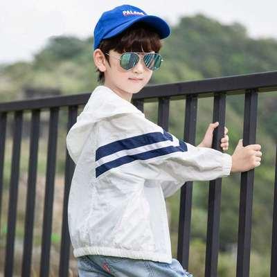 Kids Clothing New Summer Anti-ultraviolet Jacket