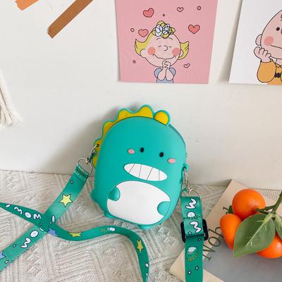 Kids Silicone Small Dinosaur Mini Crossbody Bag