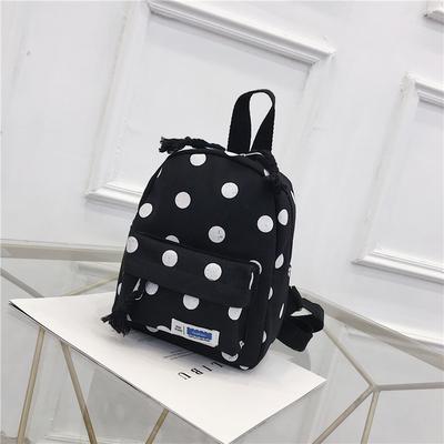Kids Kindergarten Polka Dot Student Travel Bag