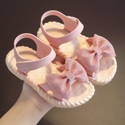 Kids Baby Princess Soft Bottom Bowknot Sandals