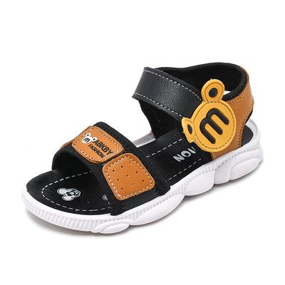Kids New Summer Baotou Anti-kick Non-slip Beach Shoes