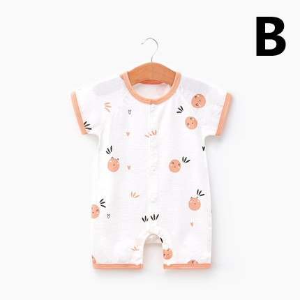 Baby Clothing Newborn Short-sleeved Cute Climbing Suit