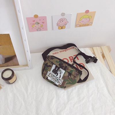 Kids Bungee Camouflage Western Crossbody Bag
