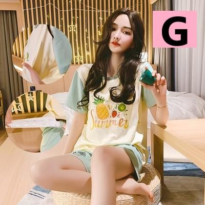 Maternity Clothing Two-piece Summer Short-sleeved Breastfeeding Pajamas