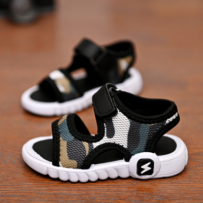 Kids Soft-soled Beach Camouflage Shoes