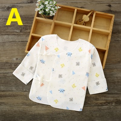 Baby Clothing Half Back Pure Cotton One-piece Top