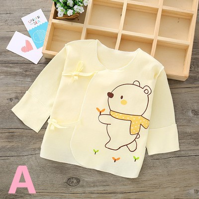Baby Clothing Half Back Pure Cotton Top