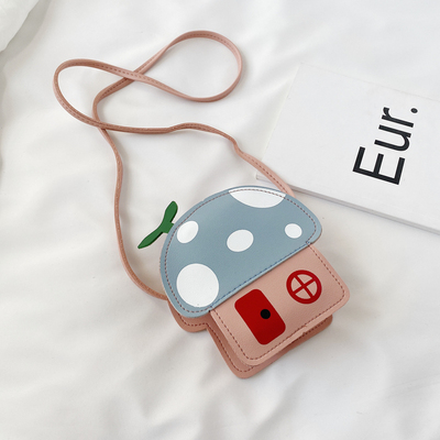 Kids Small Fashion Mushroom House Bag