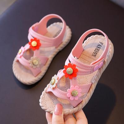 Kids Non-slip Soft Bottom Little Princess Baby Shoes