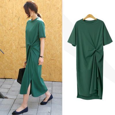 Maternity Clothing Loose Slim Casual Summer Dress
