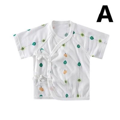 Baby Clothing Summer Newborn Half-back Short Sleeve Shirt