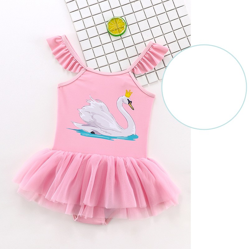 Baby Clothing Cute Little Princess One-piece Skirt Swimsuit