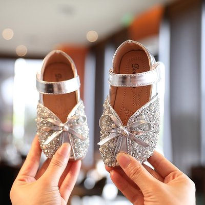 Kids Little Girls Casual Leather Shoes