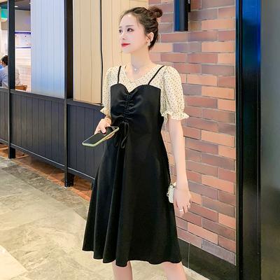 Maternity Clothing Fake Two-piece Breastfeeding Skirts Dress