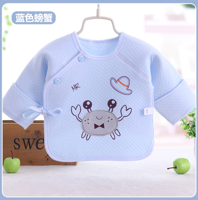 Baby Boy Girl Cute Cotton Winter Crab Long Sleeve T-Shirt Tops