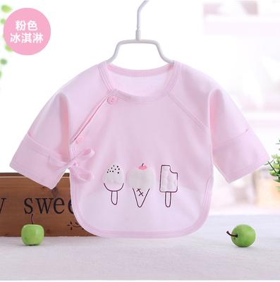 Baby Boy Girl Cute Cotton Ice Cream Long Sleeve T-Shirt Tops