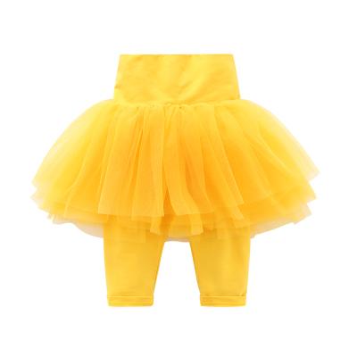 0d63683b2cef Baby Girl Boy Plain Color Lace Leggings Long Pants
