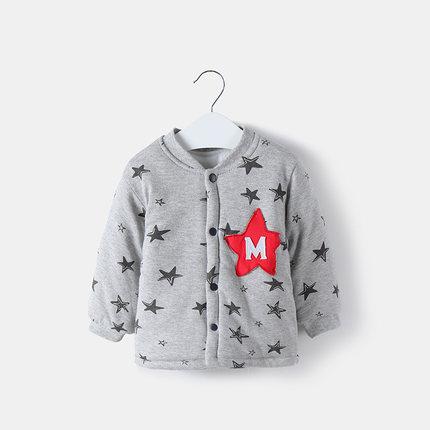 Baby Newborn Girl Boy Cute Starry Star Winter Travel Keep Warm Jacket