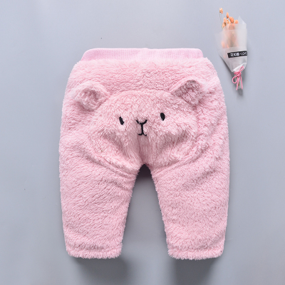 Baby Newborn Girl Boy Cute Bear Winter Travel Keep Warm Pants