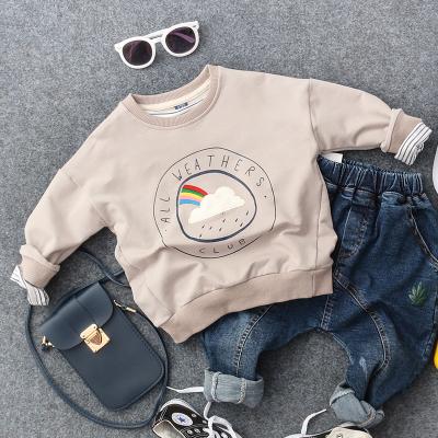 2d9069a50 Kids Children Boy Rainbow Travel Winter Casual Long Sleeve T-Shirt Tops